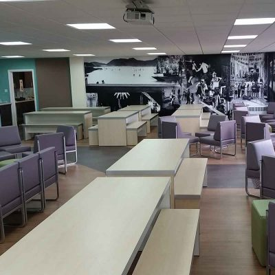 Faringdon Community College - Staff/Common Room Refurbishment by Cube 21 - Oxfordshire