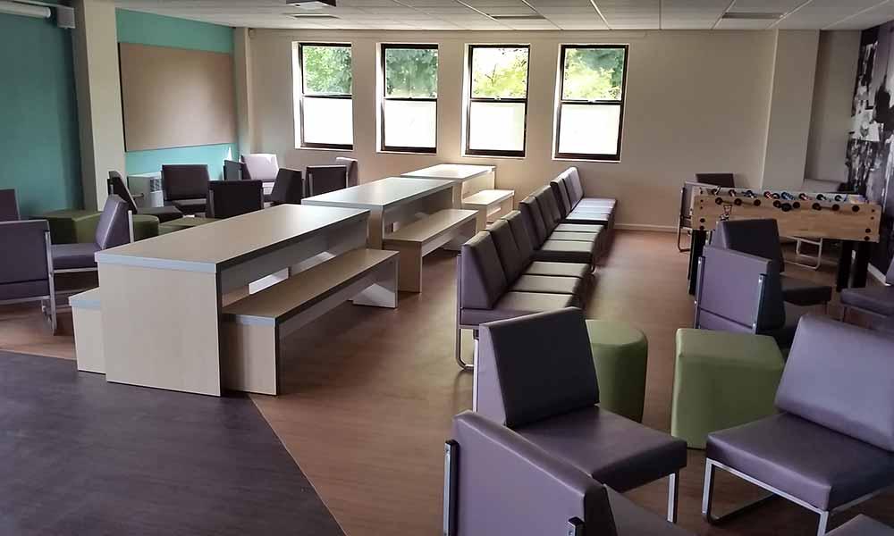 Faringdon Community College - Staff/Common Room Refurbishment by Cube 21 - Oxfordshire