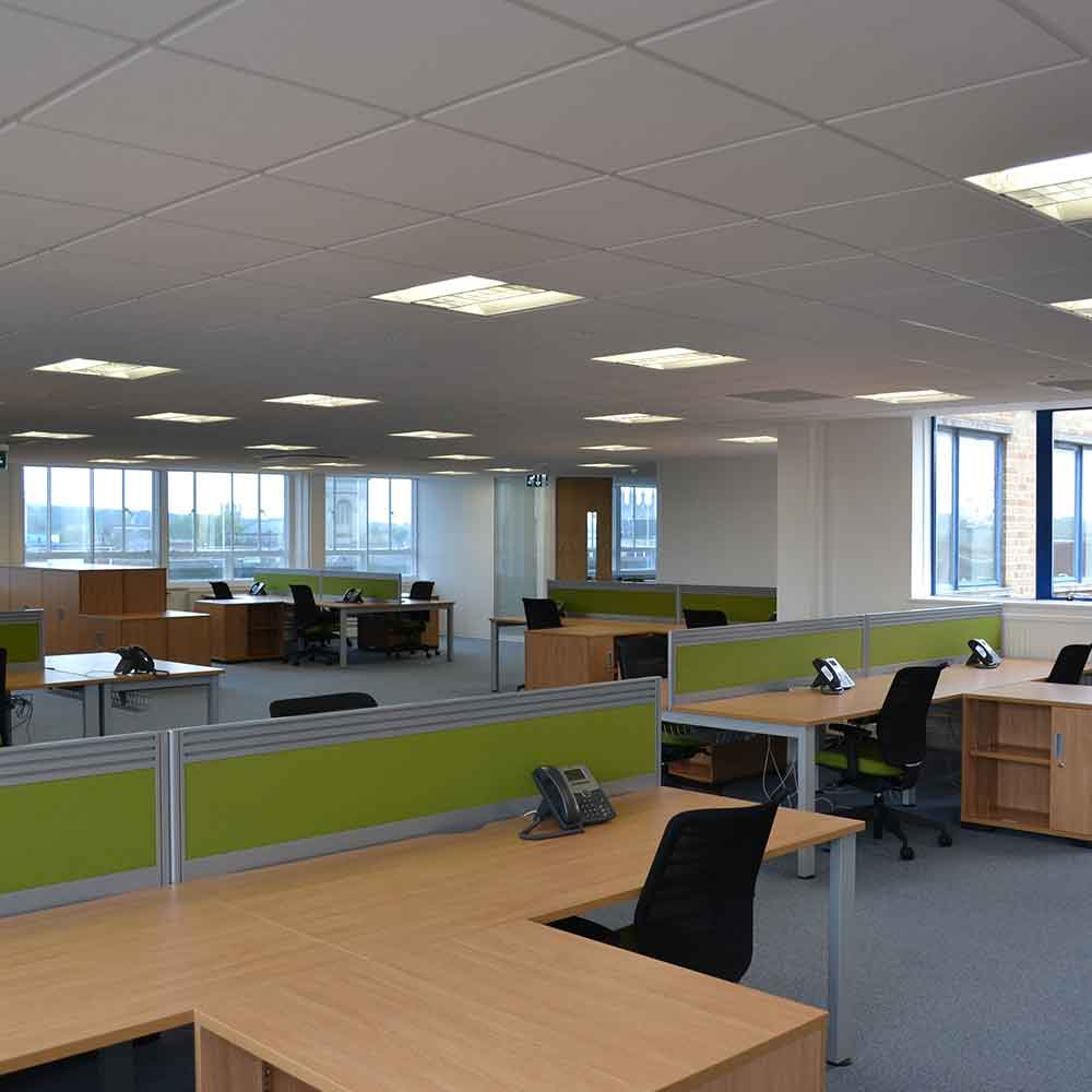 LMC International - Office Fit Out by Cube 21