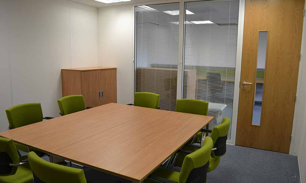 LMC International Office Refurb in Oxfordshire by Cube21