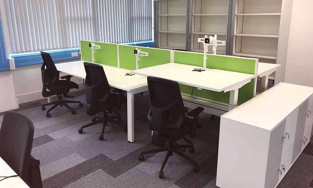 NHS Chippenham - Office Refurb by Cube21