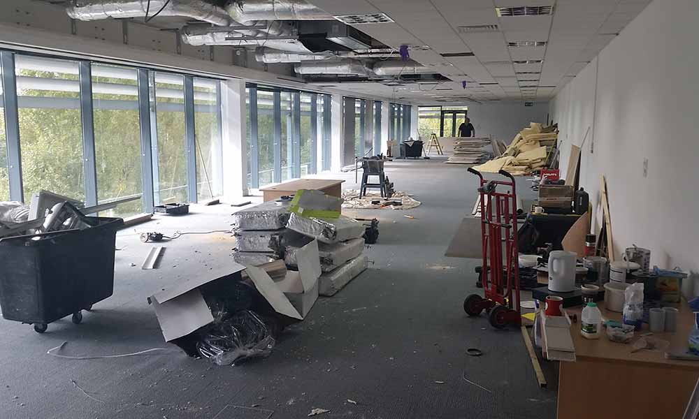 Oxford Academic Health Science Network - Office renovation project by Cube 21