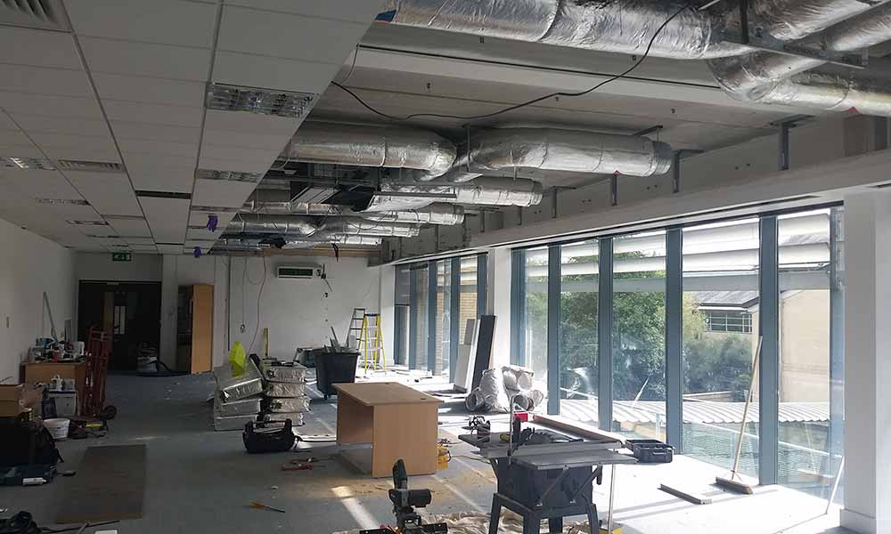 Oxford Academic Science Network - Office Refurbishment in Oxfordshire by Cube21