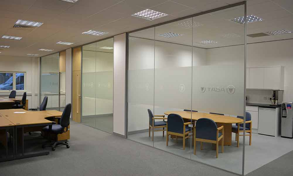 YASA Office Refurbishment Oxford by Cube21