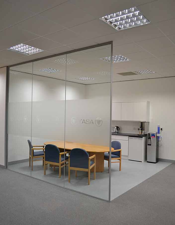 Yasa Office Refurbishment in Oxford by Cube21