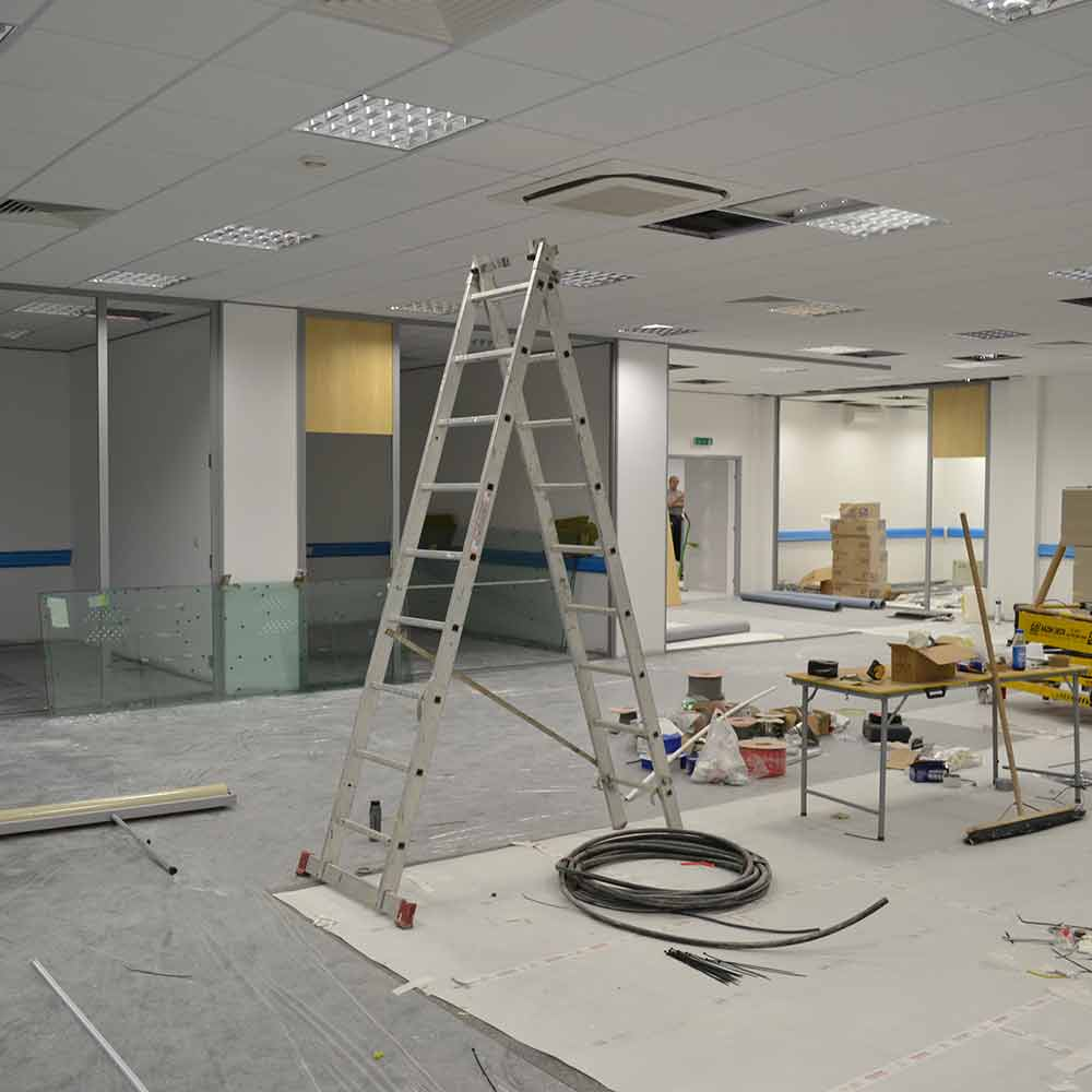 YASA - office refurbishment Oxford by Cube21